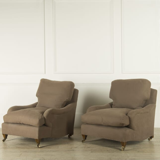 Pair of Howard Style Armchairs CH999204