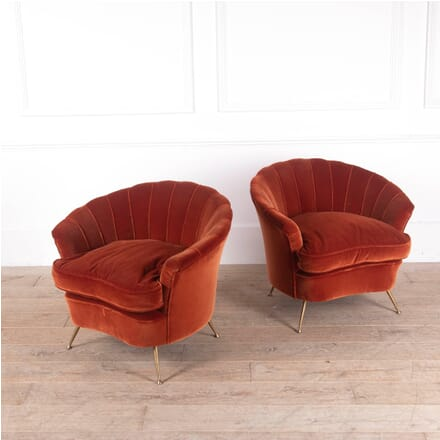 Pair of Italian 1950s Shell Chairs CH2911292