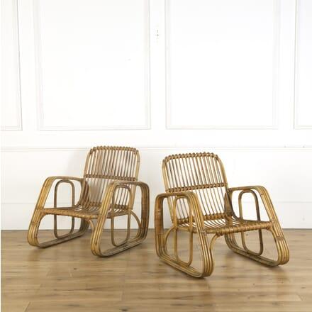 Pair of Italian Bamboo Chairs OF539606
