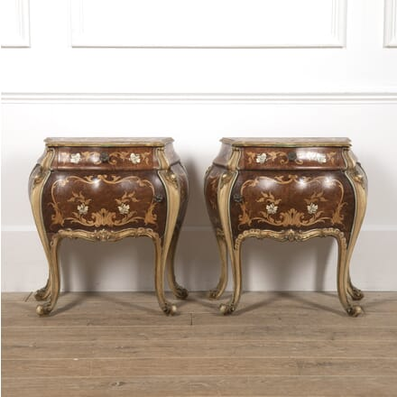 Pair of Italian Bedside Commodes BD4516690