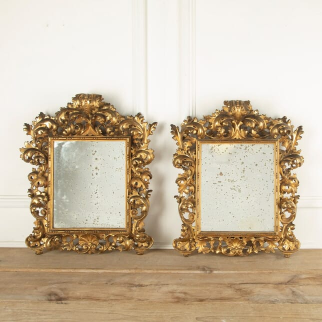 Pair of Italian Florentine Mirrors MI2010771