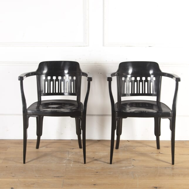 Pair of Jugendstil Bentwood Armchairs CH7614086