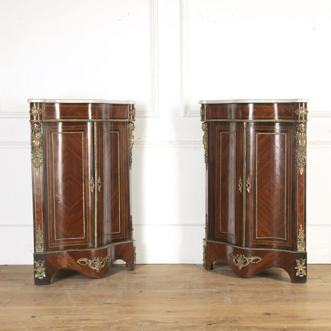 Pair of Kingwood Corner Cabinets BU8413926