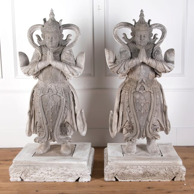 Pair of Life Sized Oriental Figures GA7210729