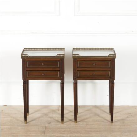 Pair of Louis XVI Revival Nightstands BD1510050