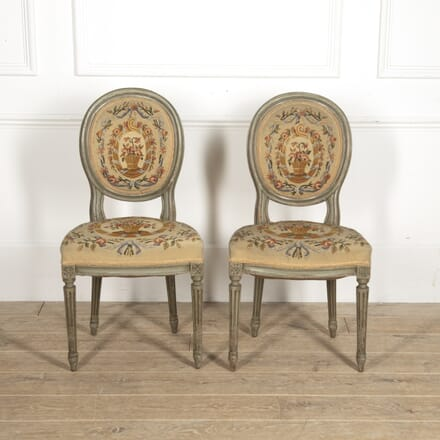 Pair of Louis XVI Revival Side Chairs CH1515280