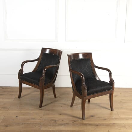 Pair of Mahogany Side Chairs CH8413923