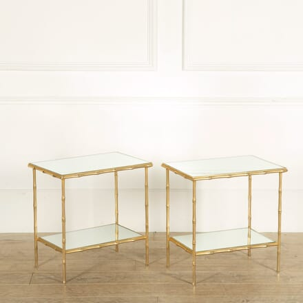 Pair of Maison Bagues Style Side Tables TC159069