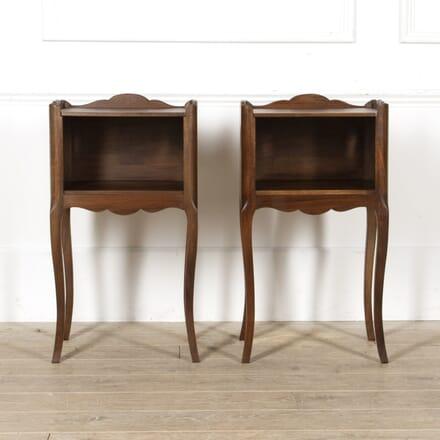 Pair of Mid Century Mahogany Side Tables CO8817454