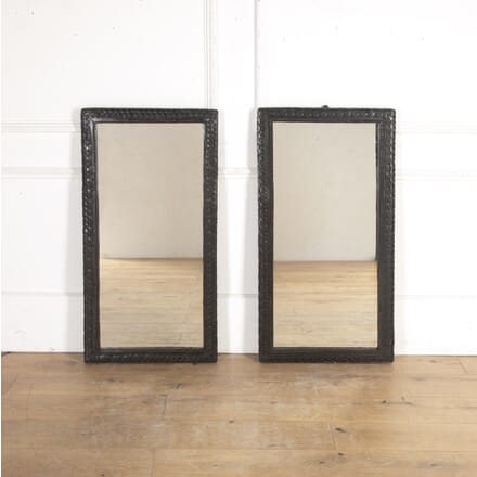 Pair of Mirrors with Michelin Tyre Frames MI8016025