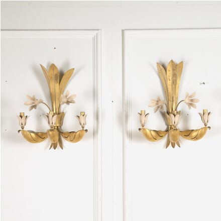 Pair of Mid Century Wall Sconces LW2060262
