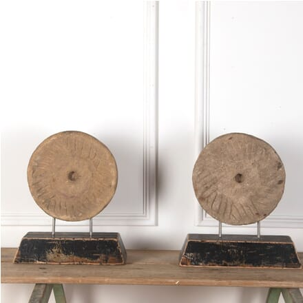 Pair of Mill Stones GA7311108