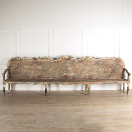 Pair of Monumental Benches SB129446