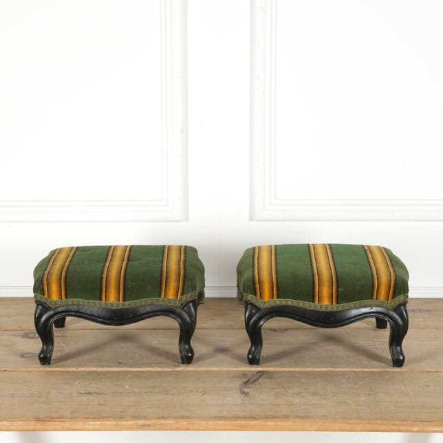 Pair of Napoleon III Footstools ST1510056