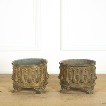 Pair of Neo Classical Revival Cache Pots DA159088