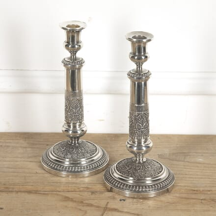 Pair of French Neoclassical Candlesticks DA1515273