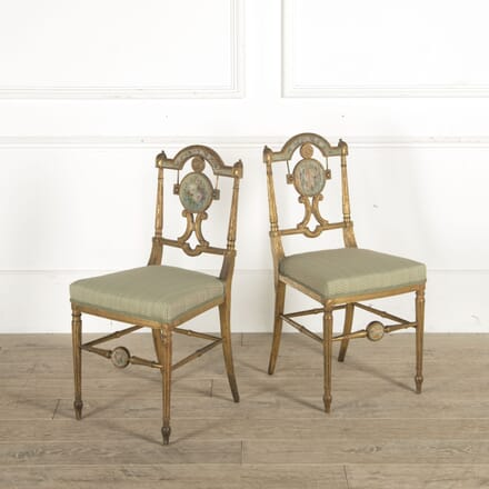 Pair of Neo Classical Revival Side Chairs CH1510472