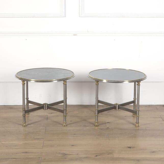Pair of Nickel Plated Side Tables TC5310312