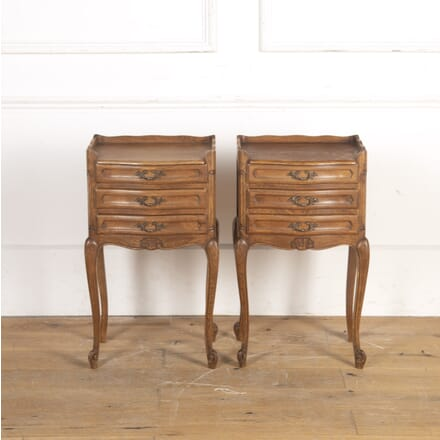 Pair of French Oak Bedside Cabinets BD8516202
