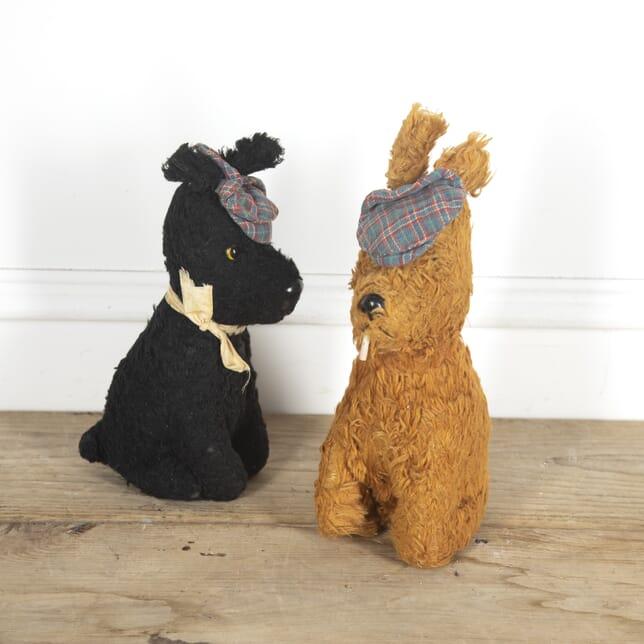 Pair of Vintage Scottie Dog Toys DA1515339