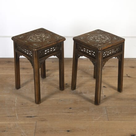 Pair of Oriental Side Tables CO8413918