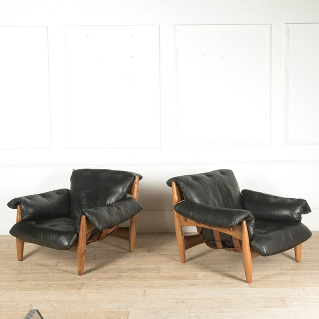 Pair of Original 1960s Sergio Rodrigues Armchairs CH2910560