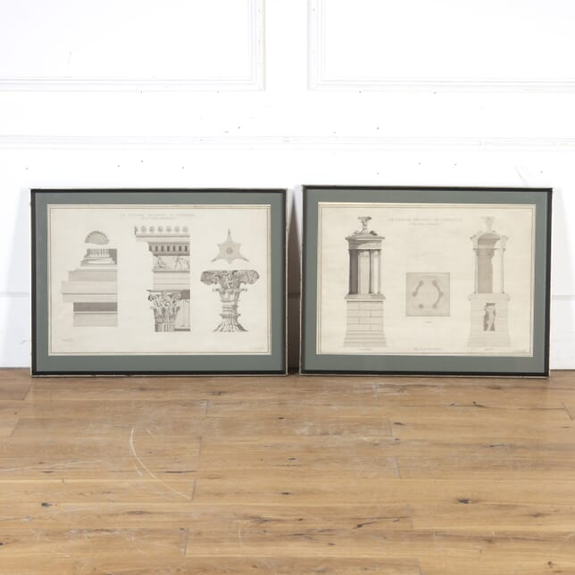 Pair of Original Architectural Drawings WD8013904