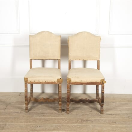 Pair of 'Os de Mouton' Oak Side Chairs CH2914849