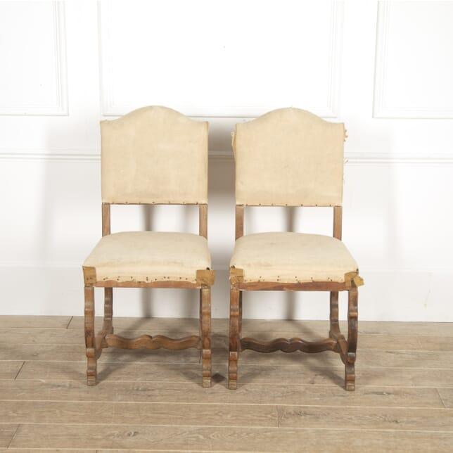 Pair of 'Os de Mouton' Oak Side Chairs CH2914849