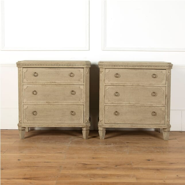 Pair of Painted Swedish Commodes CC4311038