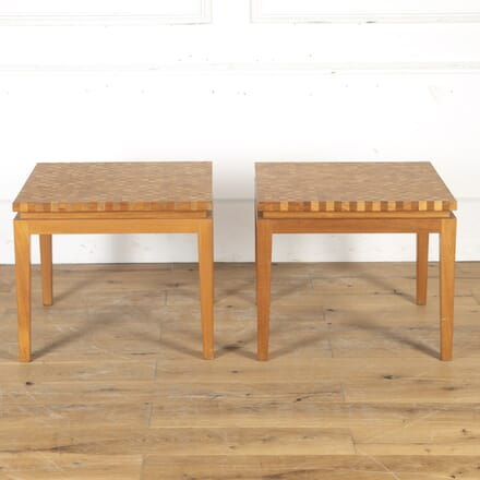 Pair of Mid Century Parquetry Tables CT2715099