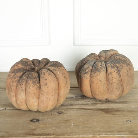 Decorative Pair of Pumpkins DA2017017
