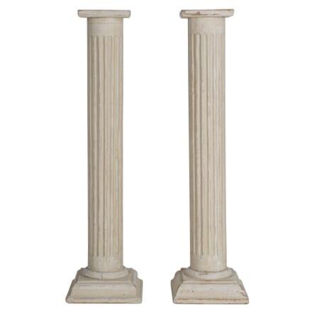 Pair Of Reeded Columns DA154184
