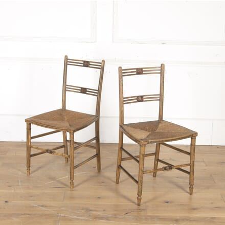 Pair of Regency Side Chairs CH2015196