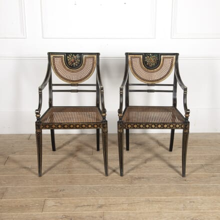 Pair of Regency Style Armchairs CH5215063