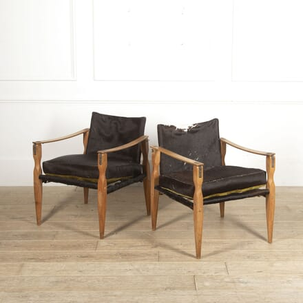 Pair of Roorkhee Style Safari Chairs CH2815568