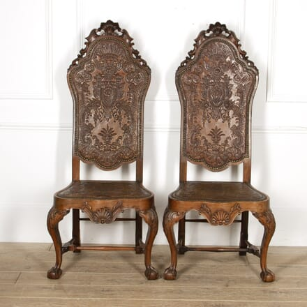 Pair of 18th Century Spanish Side Chairs CH8417414