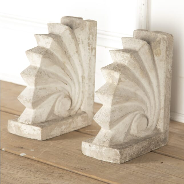 Pair of Stone Architectural Elements GA3615143