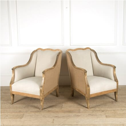 Pair of Swedish Late 19th Century Armchairs CH449567