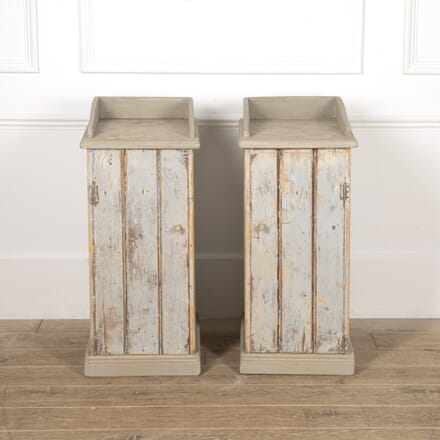 Pair of Swedish Painted Bedside Tables BD4416757