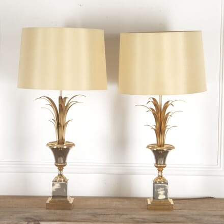 Pair of Tall Boulanger Palm Table Lamps LT4114512