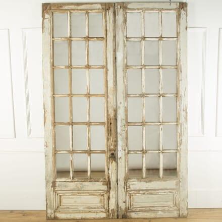 Pair of Tall French Mirrored Doors GA759478