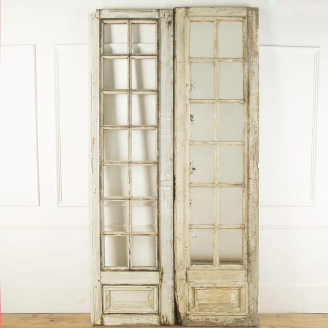 Pair of Tall French Mirrored Doors GA759479