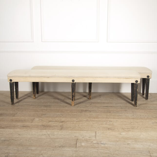 Pair of French Upholstered Benches SB2814803