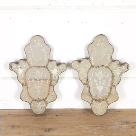 Pair of 18th Century Venetian Mirrors MI0314604