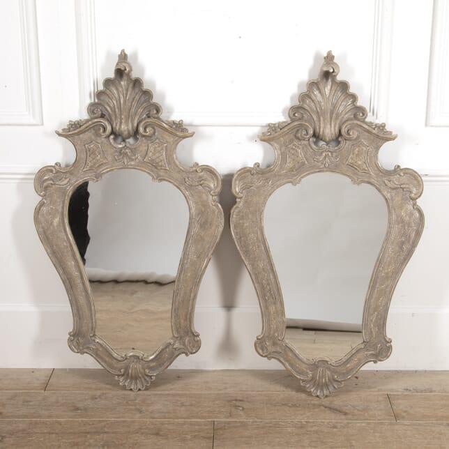 Pair of Venetian Silver Mirrors MI4115180