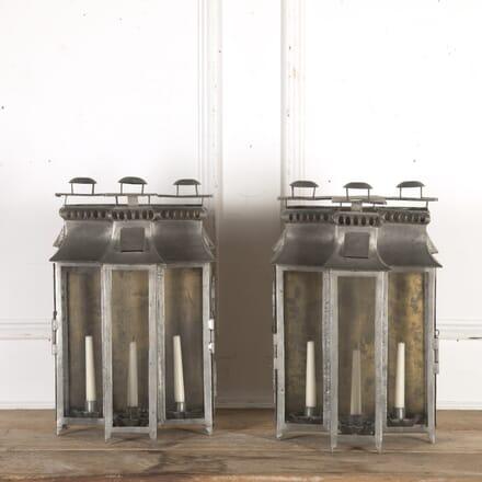 Pair of Spanish Wall Lanterns LW3615991
