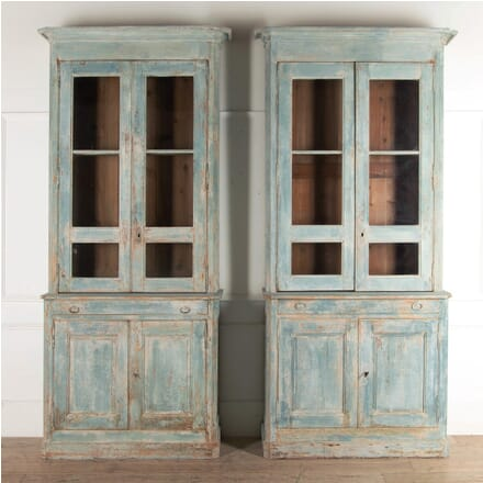Pair of 19th Century French Kitchen Dressers CU0110227