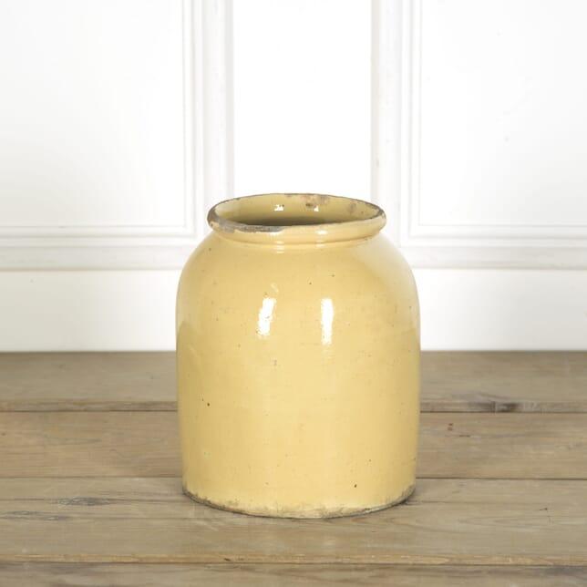 Pale Yellow Southern French Pot DA719671