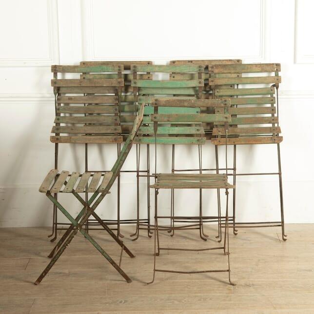 Parisian Bandstand Folding Seats GA2510802